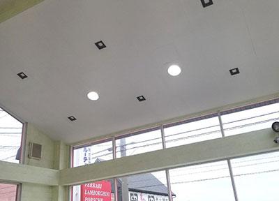 店舗ショールーム LED照明